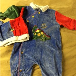 Little Me baby dinosaur outfit